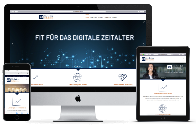 PZ Marketing Solutions - Ihre Werbeagentur für Webdesign